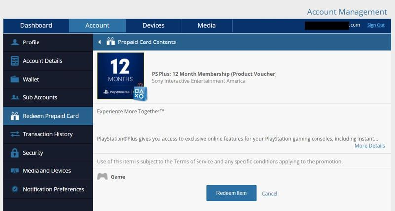 canjear ps plus usa cdkeys en sony entertaiment network