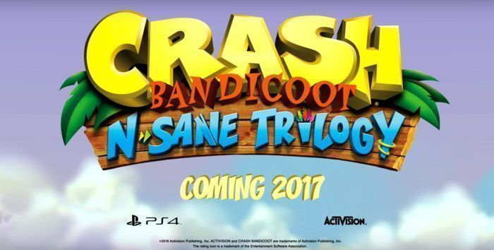 Crash Bandicoot N. Sane Trilogy en PS4
