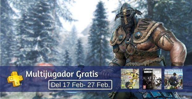 Multijugador Gratis ps4 hasta 27 feb en psn store