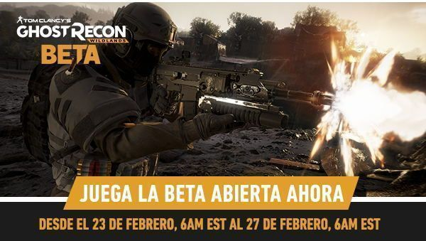 Beta abierta de Tom Clancy's Ghost Recon Wildlands