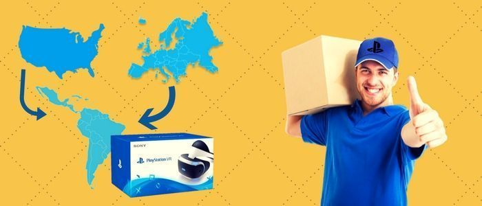 Comprar PS VR directo a casa en Amazon