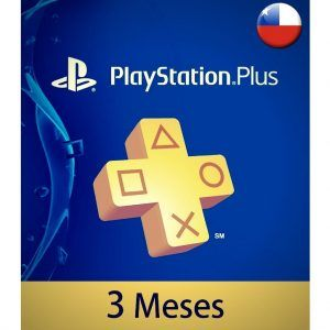 playstation plus chile 3 meses en psn store