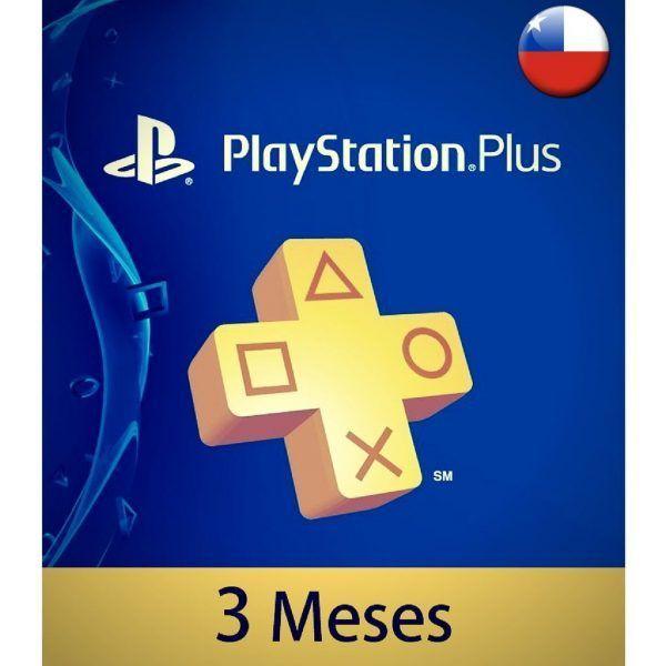 playstation plus chile 3 meses en psn store