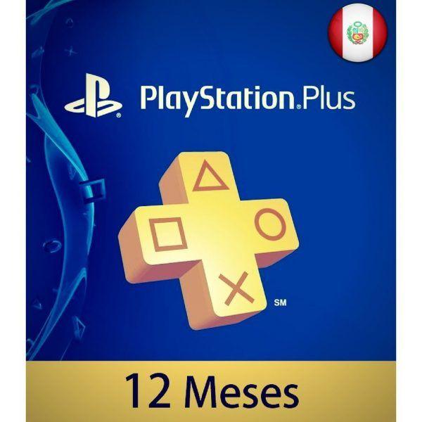 playstation plus 12 meses perú en psn store ps4