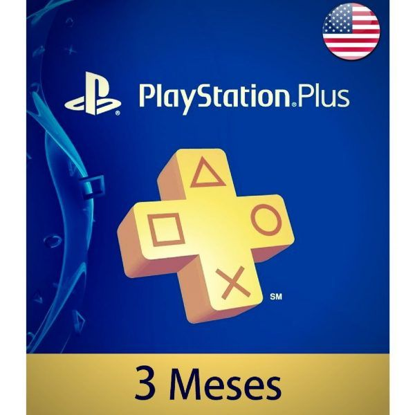 playstation plus usa 3 meses en psn store