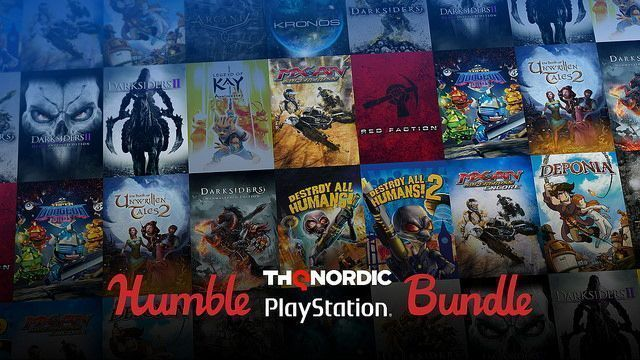 Juegos baratos de PS4 y PS3 en el Bundle de Humble THQ