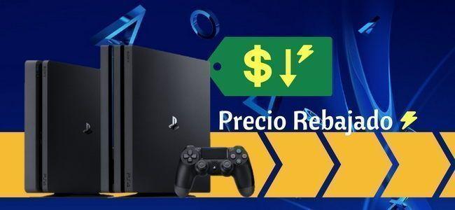 Aprovecha los descuentos para comprar una PlayStation 4