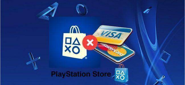 Error al Ingresar tarjeta de crédito y cómo solucionarlo en PSN Store