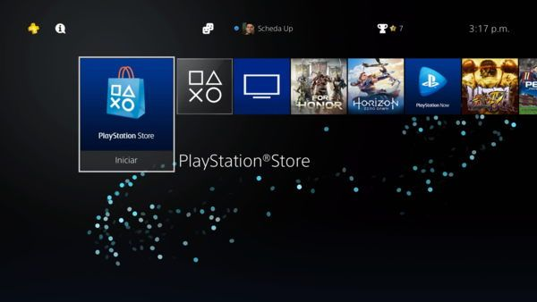 ingresar a la playstation store