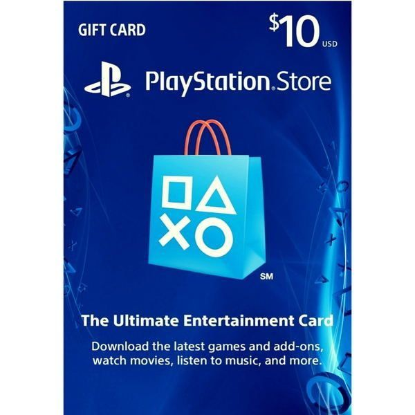 psn card 10 usd en la playstation store