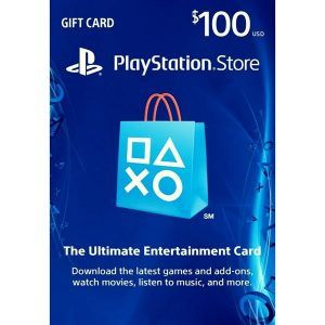 psn card 100 usd en la playstation store
