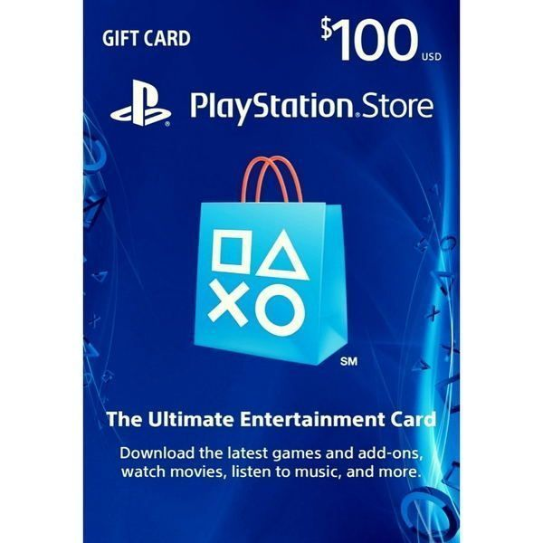 psn card $100 usa en la playstation store