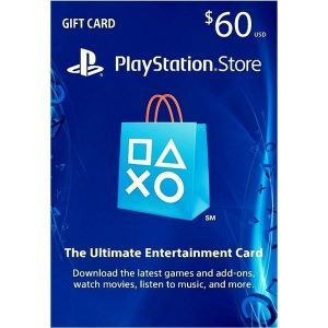 psn card $60 usa en la playstation store