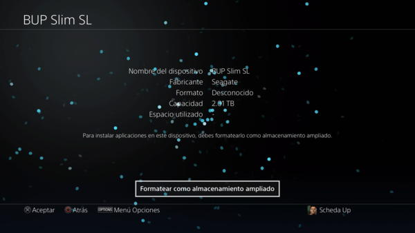 formatear disco duro externo ps4 en playstation network