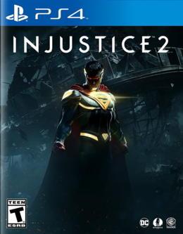 portada de injustice 2 para playstation 4