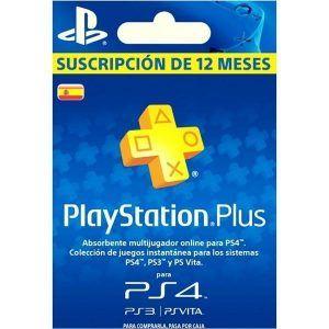 playstation plus españa 1 año para ps4, ps3 y ps vita