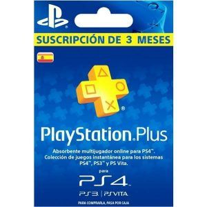 playstation plus españa 3 meses para ps4, ps3 y ps vita