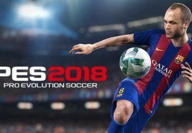 Konami anuncia fecha de lanzamiento PES 2018