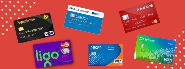tarjetas débito, prepago, recargable visa, mastercard en el perú