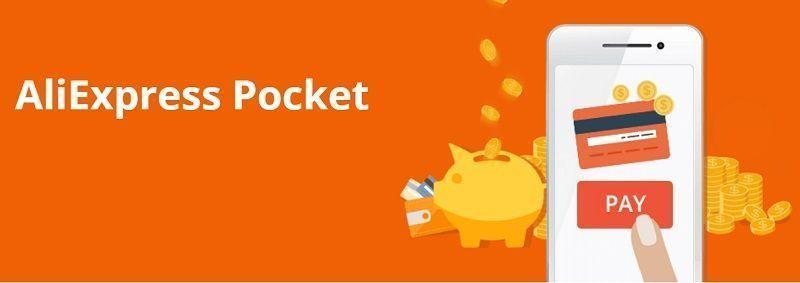 tarjeta de saldo aliexpress pocket, pagos más rápidos.