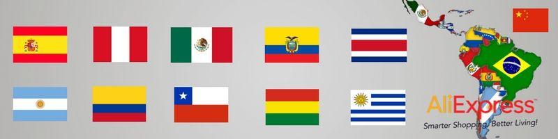 aliexpress españa, méxico, perú, argentina, colombia, chile. Aliexpress en español.