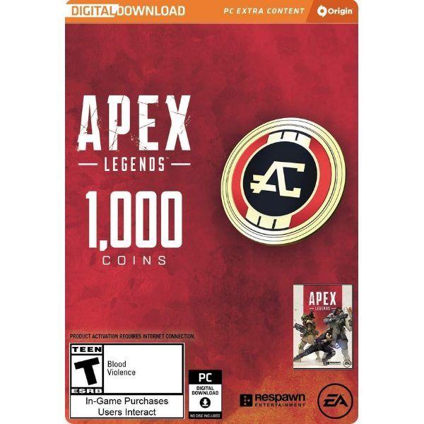 apex legends 1000 monedas apex pc orgins ea sport
