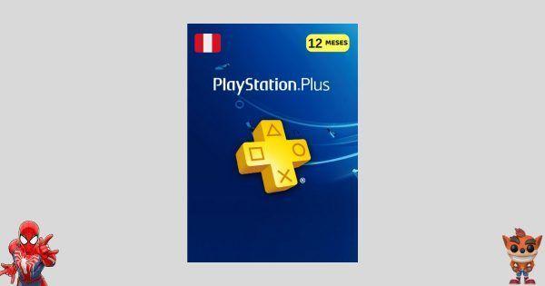 playstation plus 12 meses peru para ps4