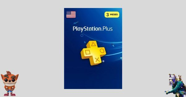 playstation plus 3 meses usa para ps4