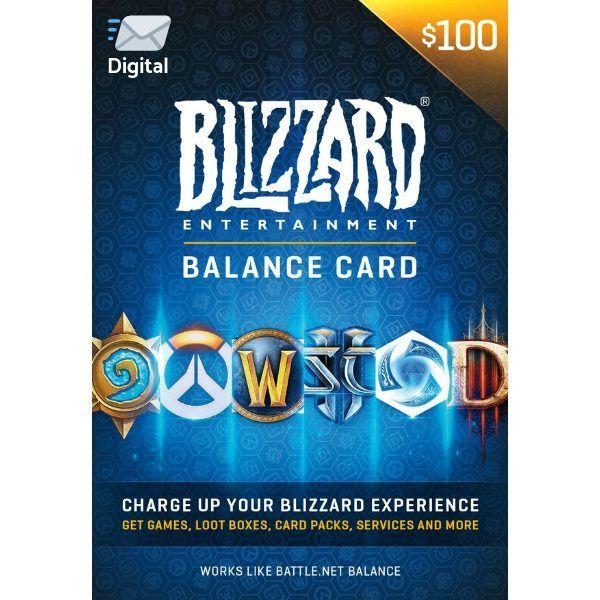 battle.net $100 us en blizzard balance entertaiment