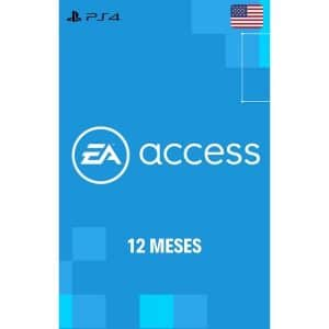 membresía ea access 12 meses ps4 usa