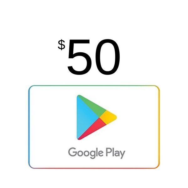 google play $50 usa para android y pc