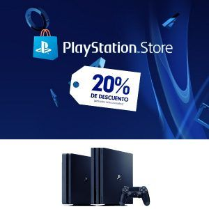 playstation store 20% descuento en playstation 4- scheda up
