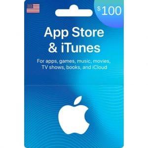 tarjeta itunes 100 dolares usa en app store- scheda up